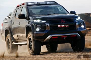 Mitsubishi Triton predator absolute concept