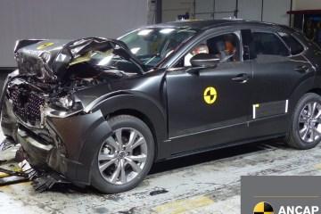 Mazda CX-30 crash ANCAP rating test