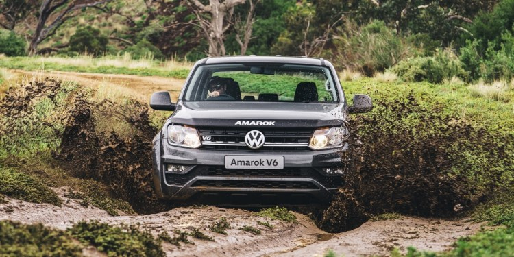VW Amarok Core V6 manual