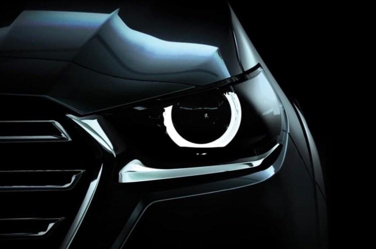 Mazda headlight bt-50