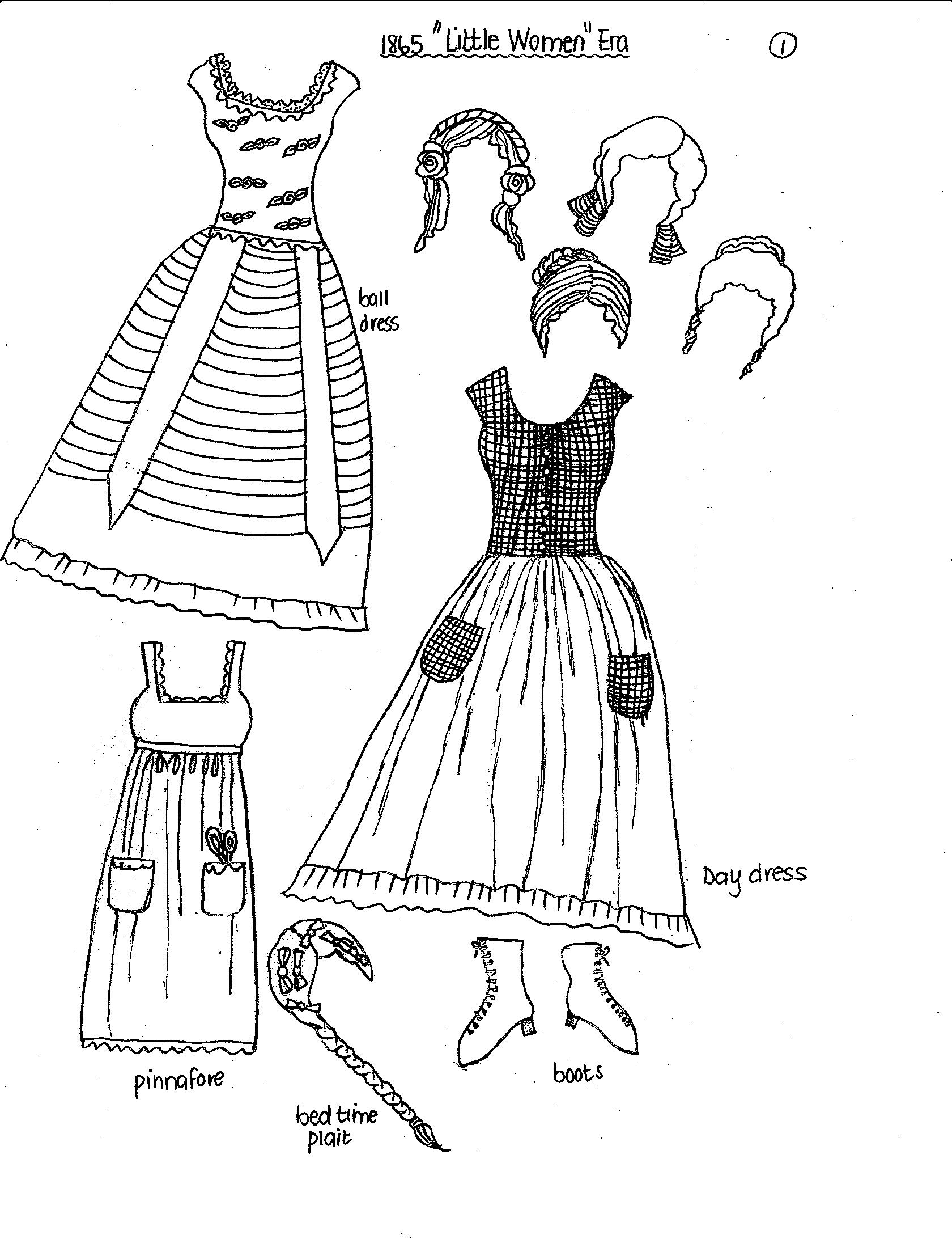 New Paper Dolls Fashions Through The Past Eras