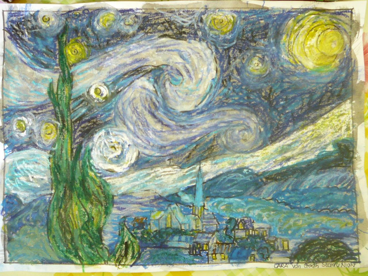 Van Gogh Starry Night Art Appreciation