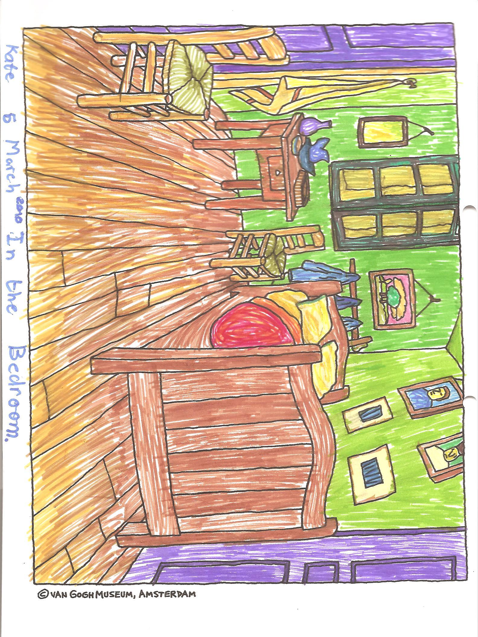 Van Gogh S Bedroom In Arles Finding Perspective