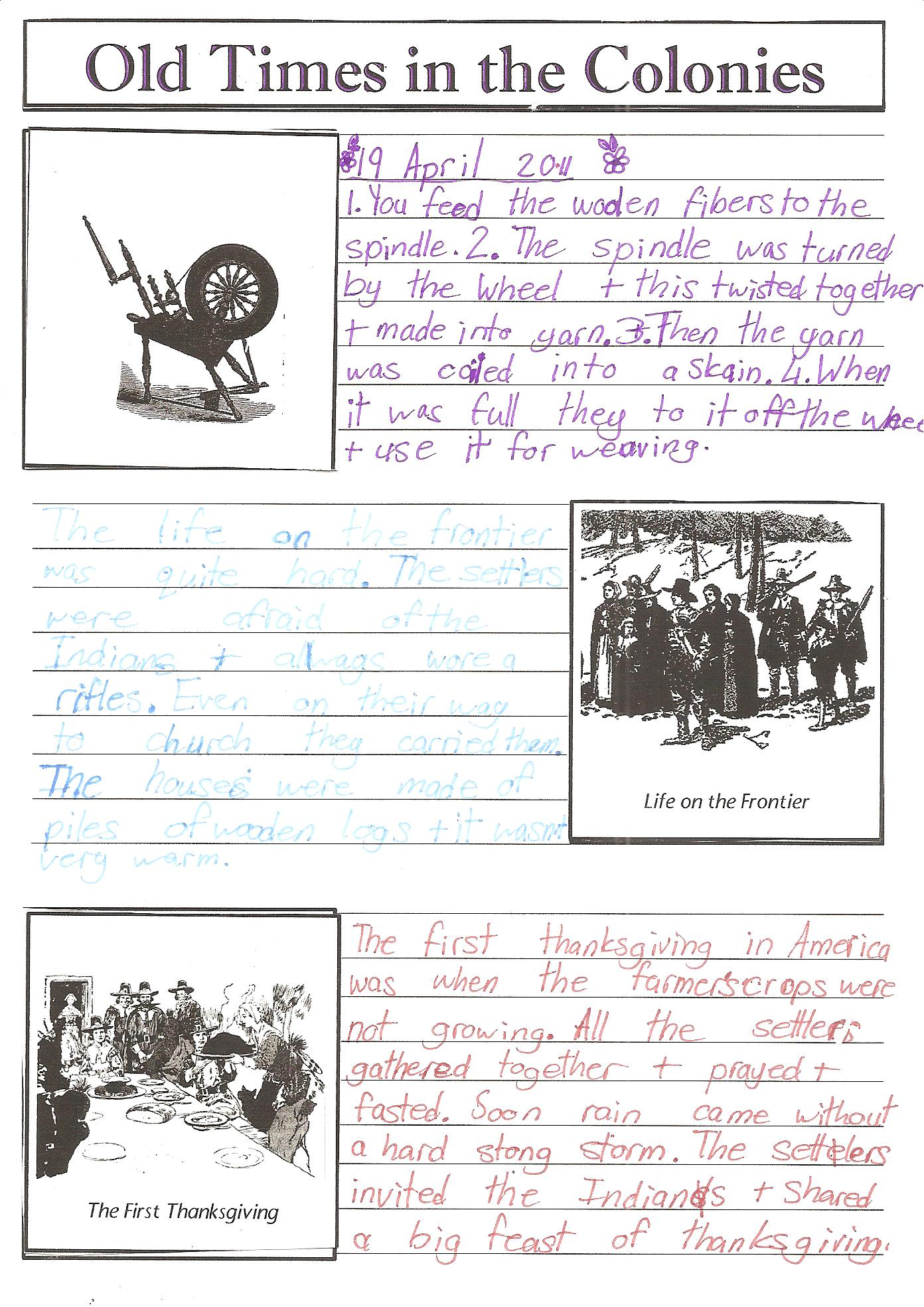 Early American History For 5th Graders