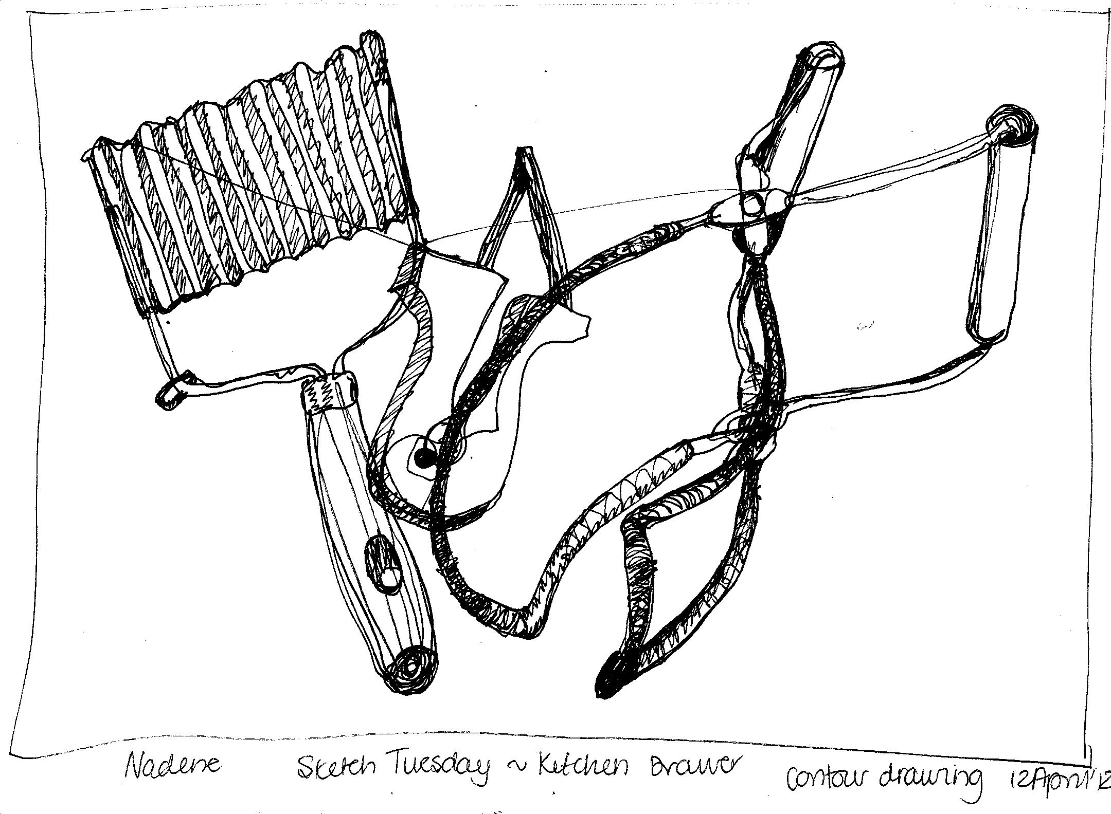 Wooden Cross Sketch Templates