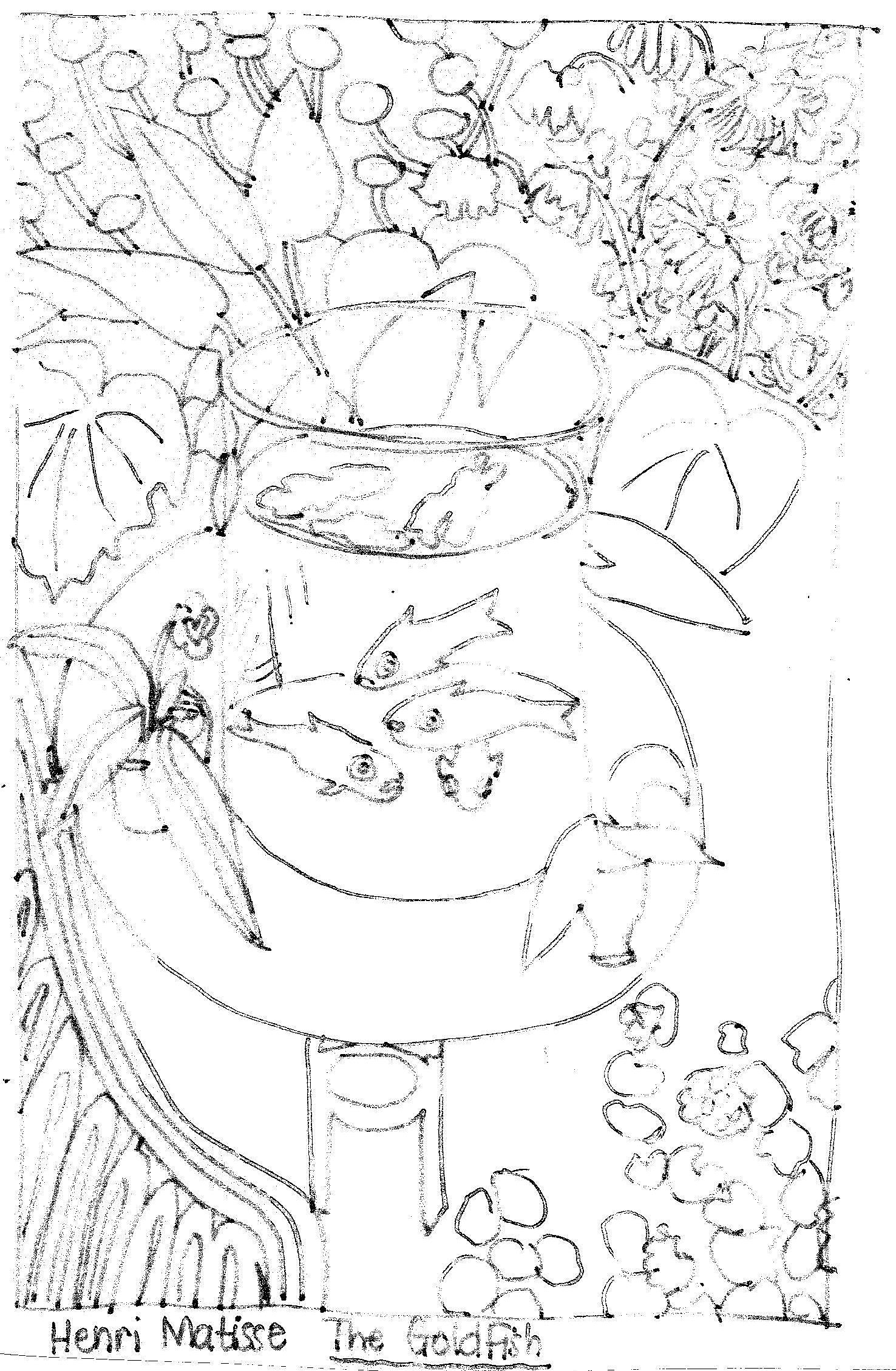 Matisse S Goldfish