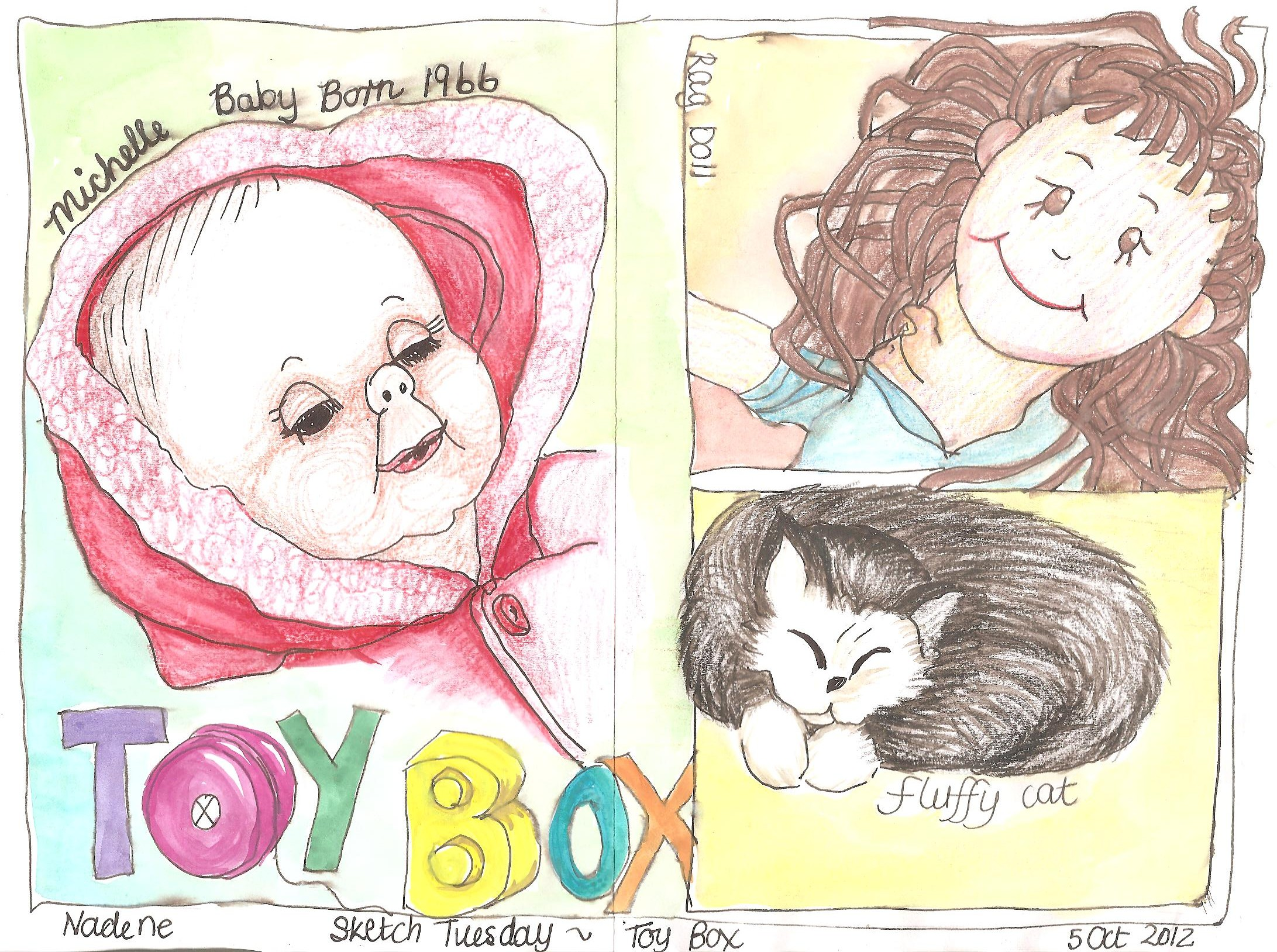 Sketch Tuesday Toy Box