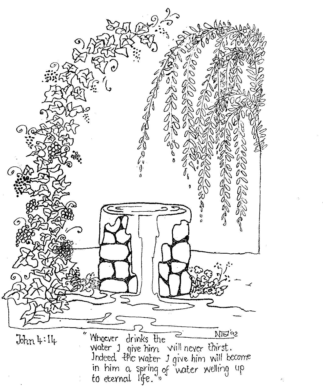 Scripture Illustrations Thirsty