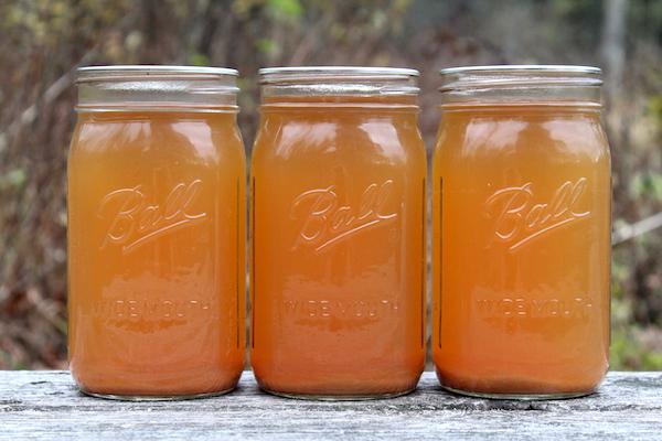 canning apple cider