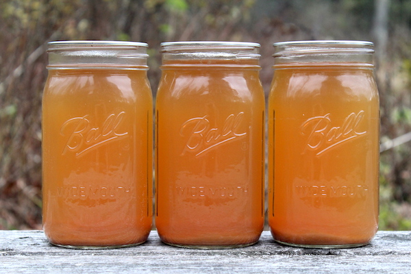 canning apple cider