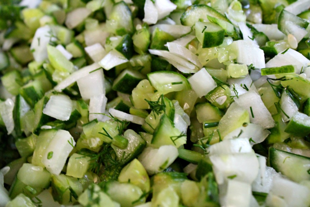 Cucumbers for Pickle Relish