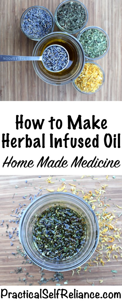 How to Make a Herbal Infused Oil #herbaloil #herbinfusedoil #herbs #herbalist #herbalism #medicine #forage #foraging #wildcrafting #survival #naturalremedy #homestead