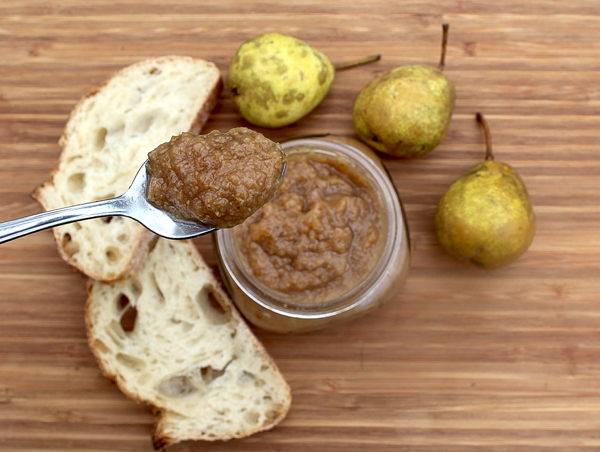 Maple Whiskey Pear Butter