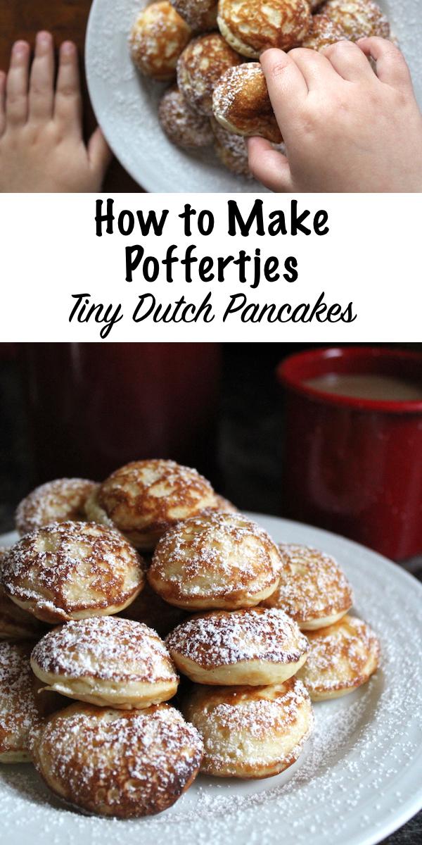 How to Make Poffertjes ~ Dutch Pancakes #poffertjes #pancakes #pancakerecipes #recipe #breakfast #castiron #brunch #dessert
