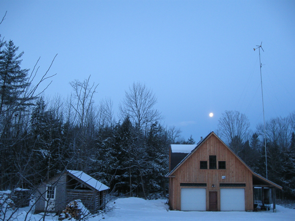 January Full Moon Homestead