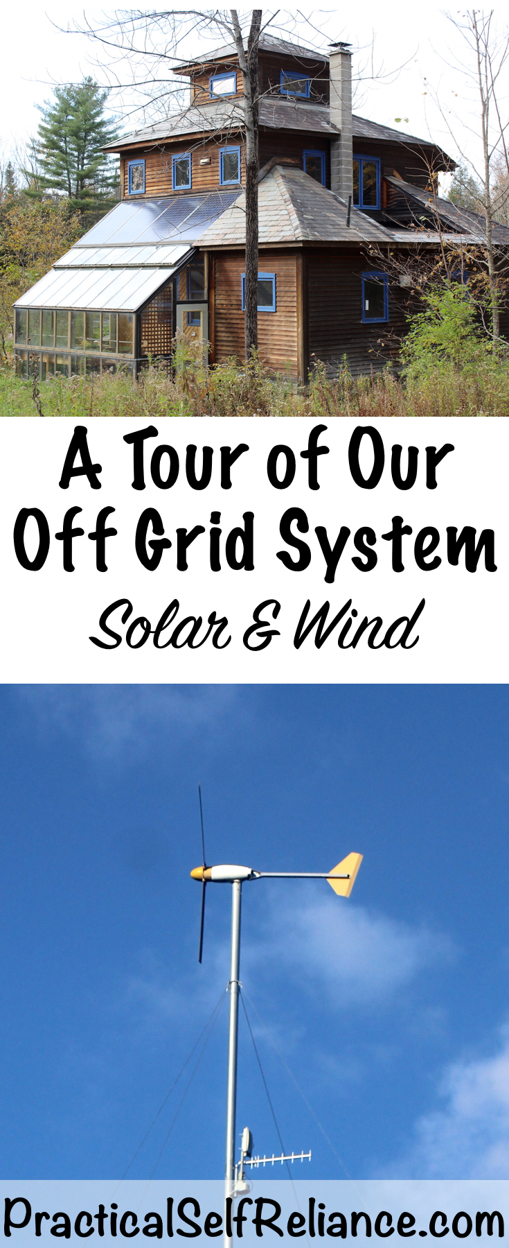 Our Off Grid Solar & Wind Setup (Tour and Specs)