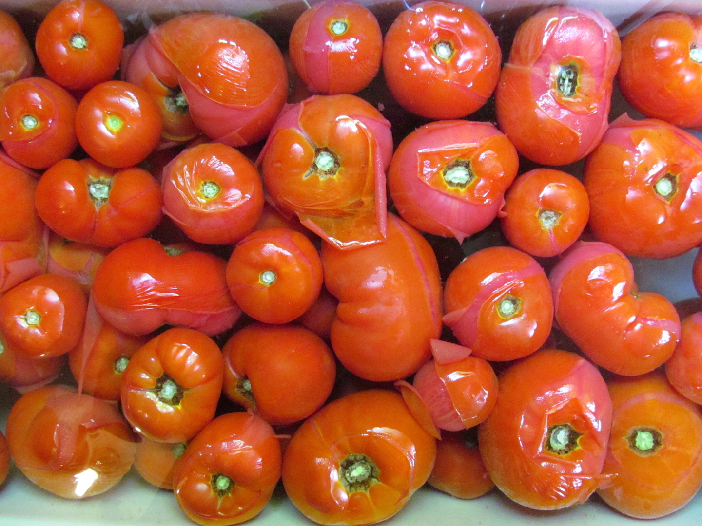 Tomatoes for canning