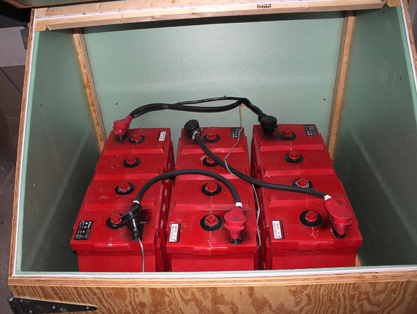 battery bank for generator