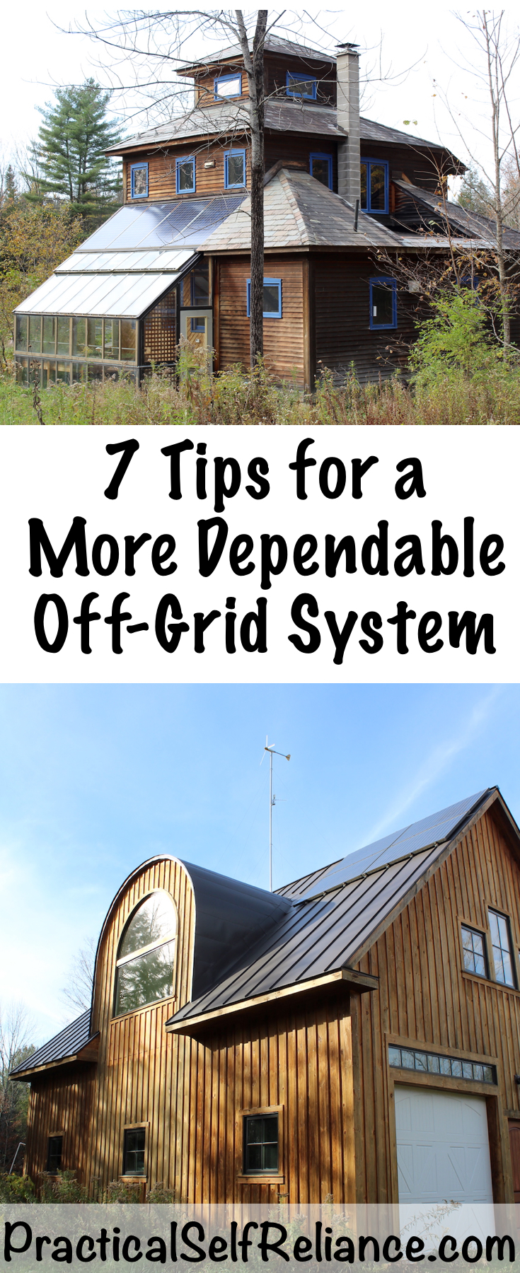 7 Tips for a More Dependable Off-Grid System ~ Creating a Reliable System #offgrid #preparedness #survival #shtf #homesteading #prepper #selfsufficiency #selfreliant