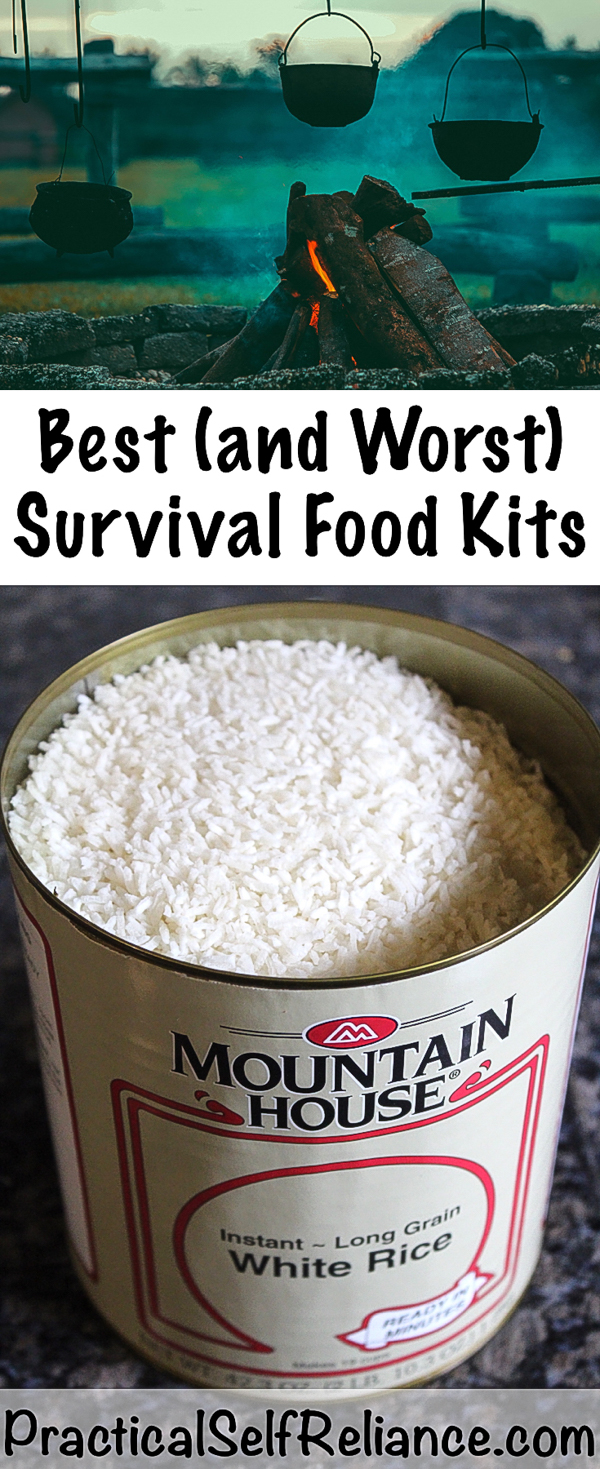 Best (and Worst) Survival Food Kits #survival #survivalist #prepper #preparedness #shtf #survivallife