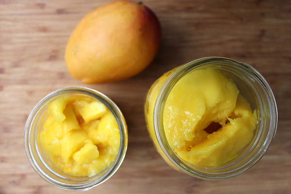 Mangoes Packed for Canning