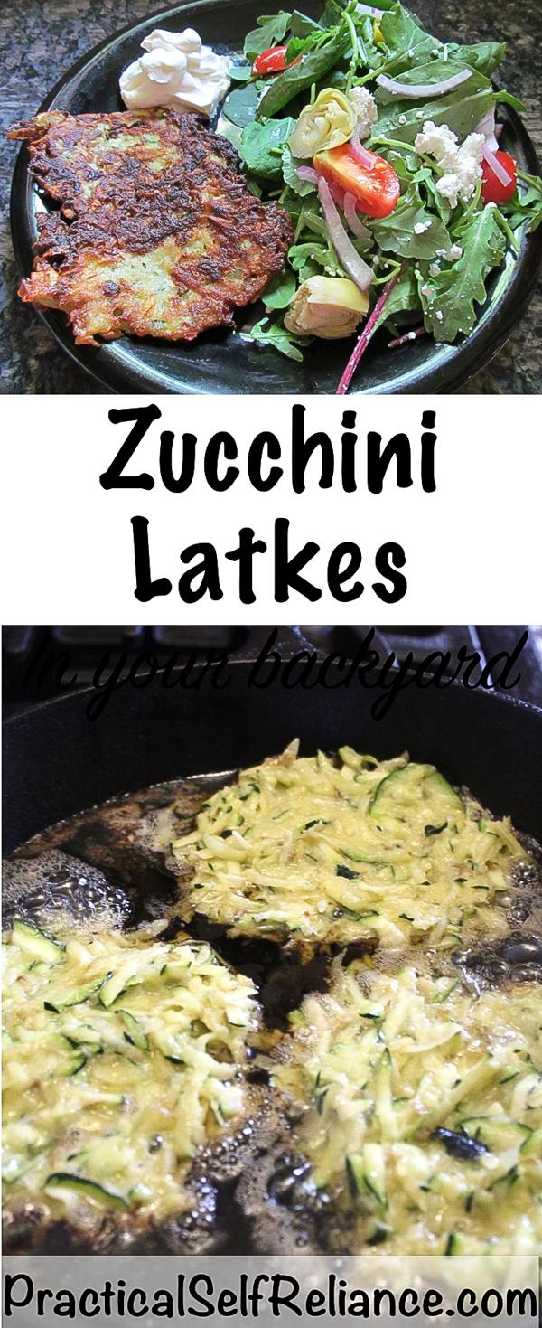Zucchini Latkes Recipe #zucchini #summersquash #zucchinirecipes #latkes #summerrecipes