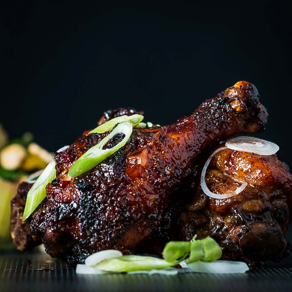 Sticky Chicken Drumsticks from Krumpli