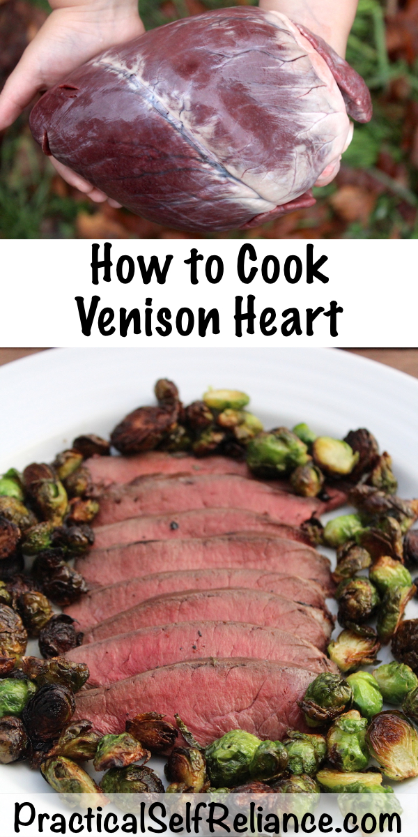 How to Cook Venison Heart ~ Wild Game Recipes for Deer Heart #venison #recipes #wildgame #deer #heart #nosetotail #howtocook #survival #preparedness #hunter #hunting #homesteading
