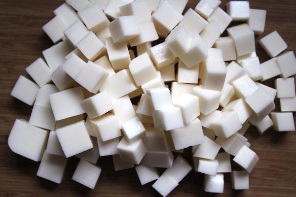 Cut Goats Milk Soap Base