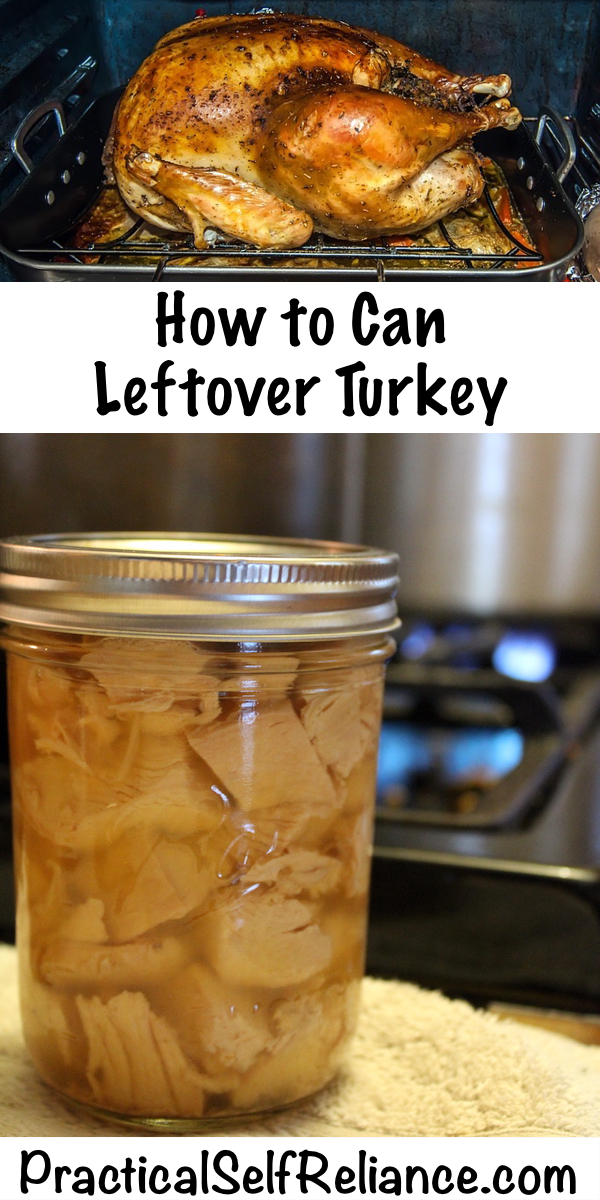 How To Can Leftover Turkey ~ Pressure Canning Turkey Meat #turkeyrecipes #thanksgivingleftovers #canning #canningmeat #foodpreservation #homesteading