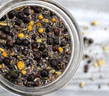 Homemade Herbal Gin