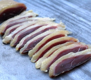 Duck Prosciutto ~ Salt Cured Duck Breast