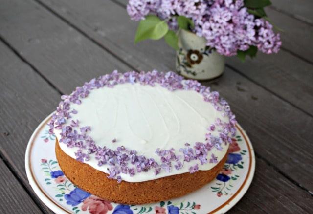 Lilac Honey Cake from Homespun Seasonal Living