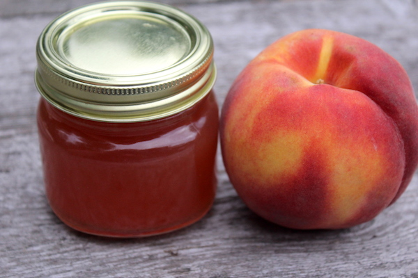 Home Canned Peach Jelly