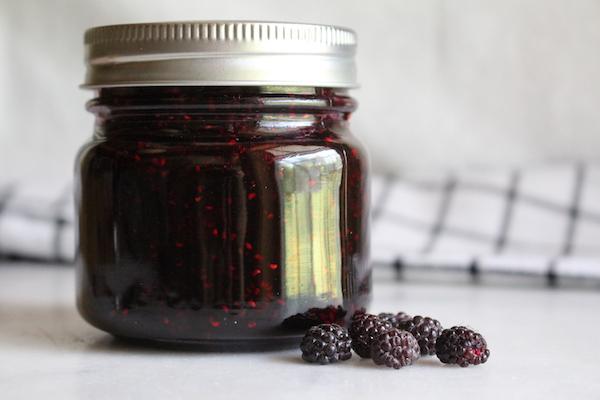 Homemade Black Raspberry Jam