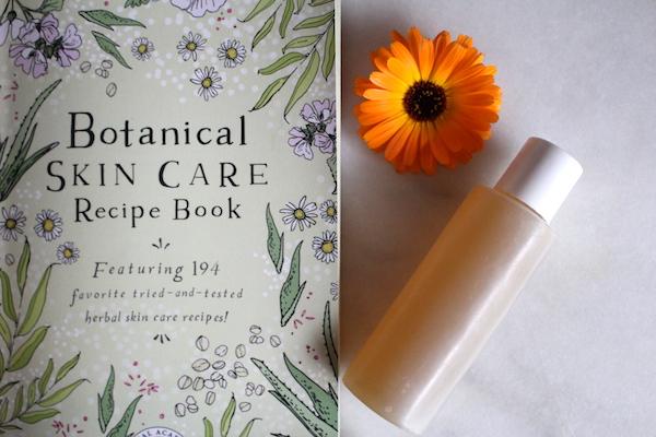 Homemade Herbal Shampoo Recipe from the Botanical Skin Care Course