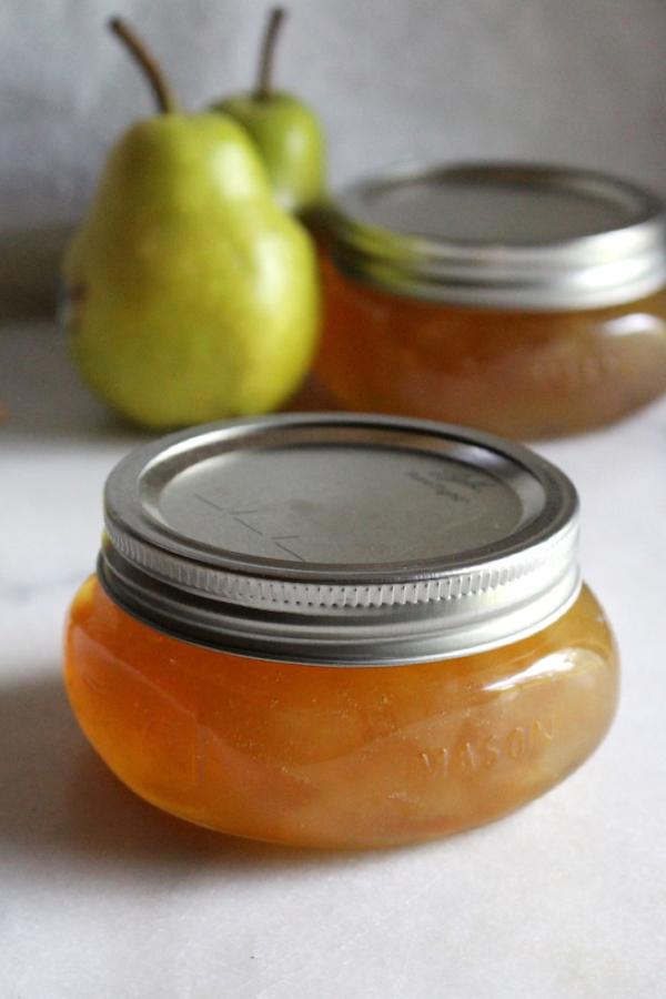 Homemade Pear Jam Recipe