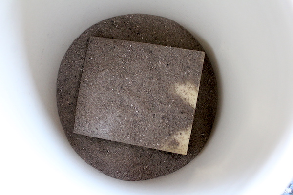 covering cheese in wood ash
