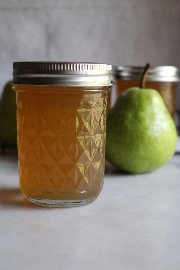 Canning Pear Jelly