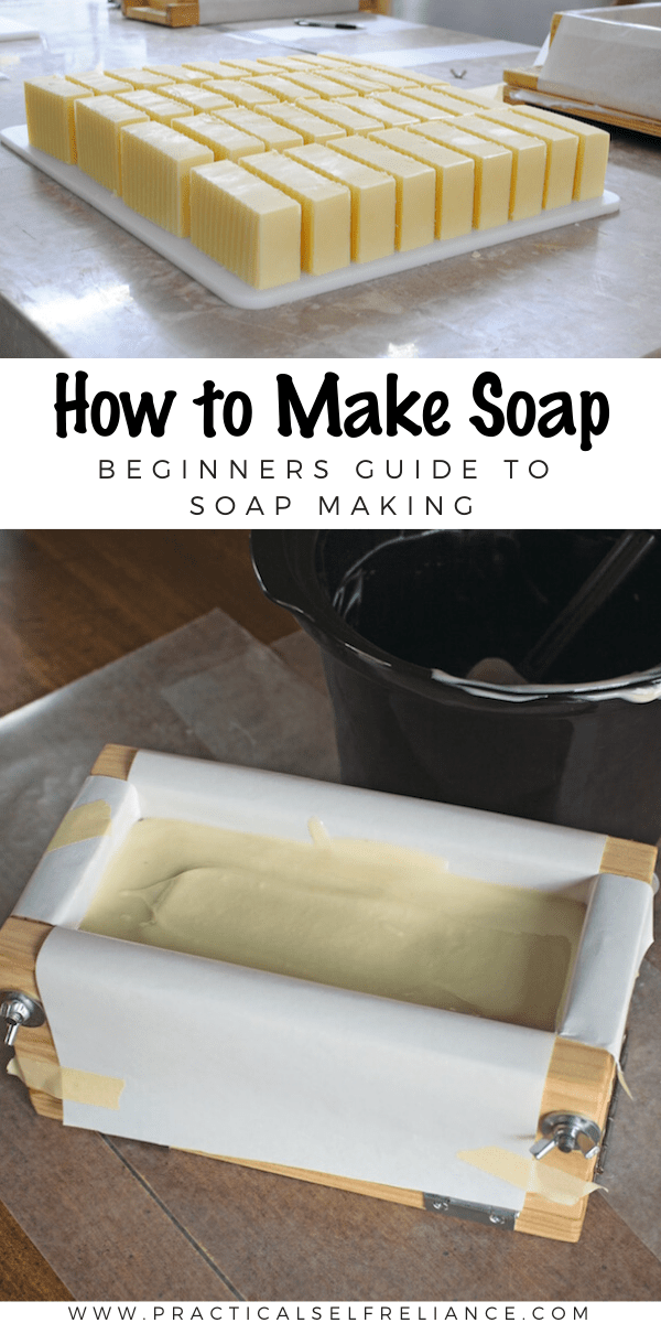How to Make Soap ~ A beginners guide to soap making. Learn to make your own homemade soaps, using either hot or cold process.