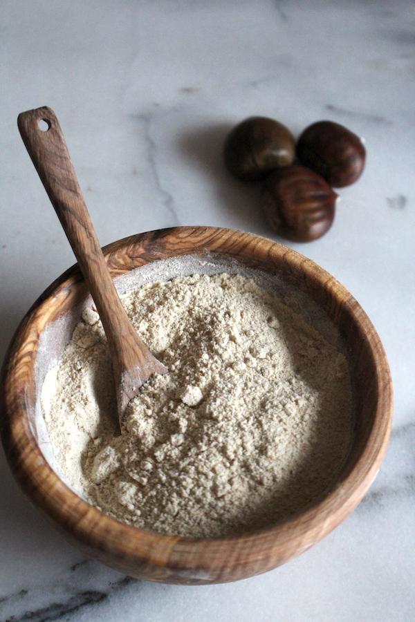 Our own homemade chestnut flour
