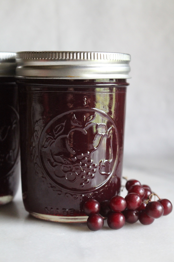 Canning chokecherry jam in a water bath canner is simple, given they're naturally acidic fruits.