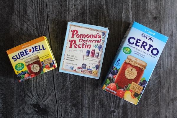 Pectin choices for Dandelion Jelly