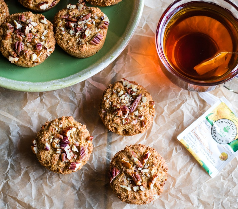 Dandelion root muffins (Image Courtesy of Grow Forage Cook Ferment)