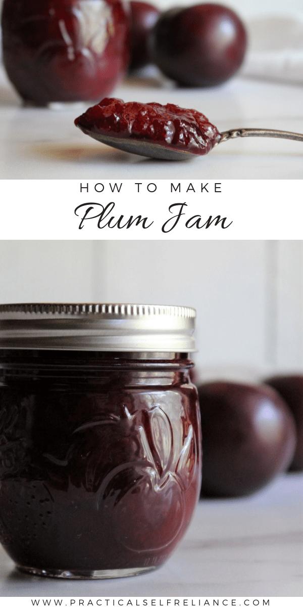 How to Make Plum Jam