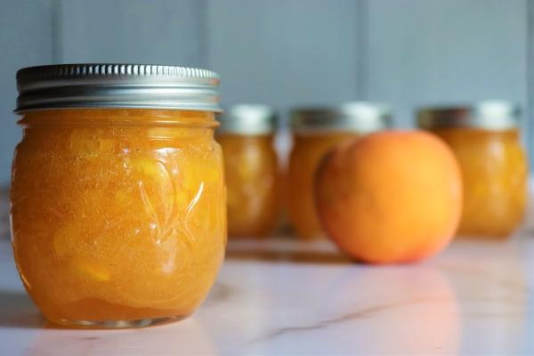 Homemade Peach Jam