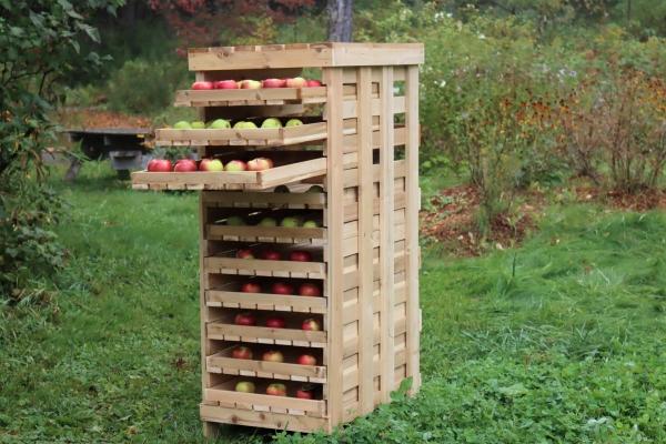 Apple Storage Rack