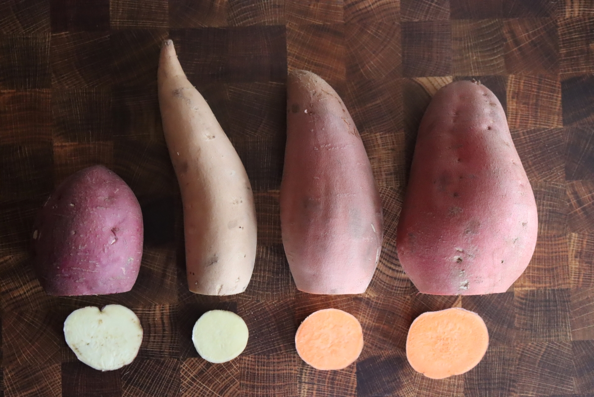 Types of Sweet Potatoes