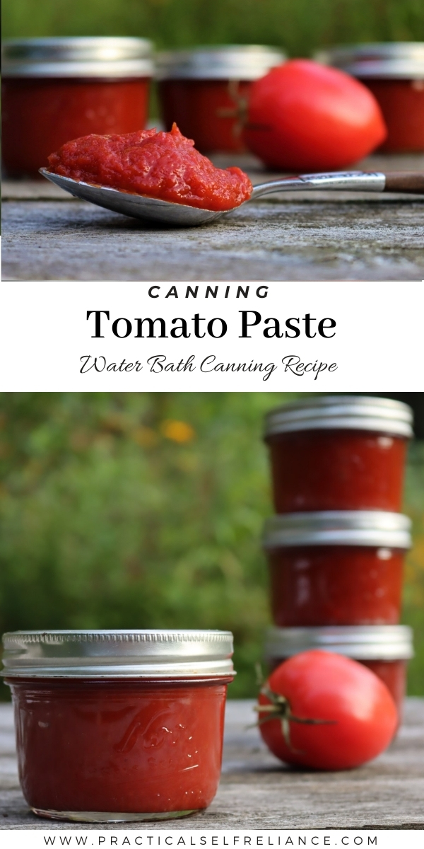 How to Can Tomato Paste