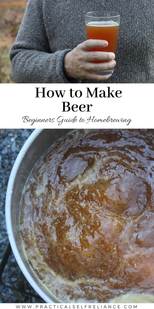 How to Make Beer ~ Learn how to make homemade beer with this beginners guide to homebrewing